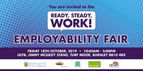 Ready Steady Work - Employability Fair  tickets