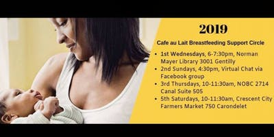 Café au Lait: Breastfeeding Circle for Families of Color (Wednesday Session)