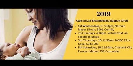 Café au Lait: Breastfeeding Circle for Families of Color (Wednesday Session) tickets