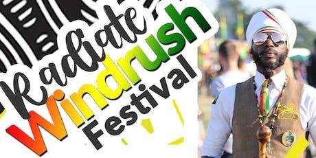 Radiate Windrush Festival 2019 billets