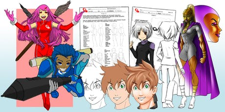 ACAS 3 Day D-Protege June Holiday DIGITAL Comic Art Camps 2019 tickets