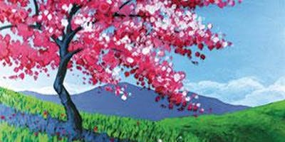 """CANVAS CLASS: """"Full Bloom Beauty"""" Adult Paint & Sip"""