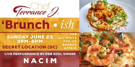 Chef Terrance J. All White Pop-Up Brunch Affair tickets