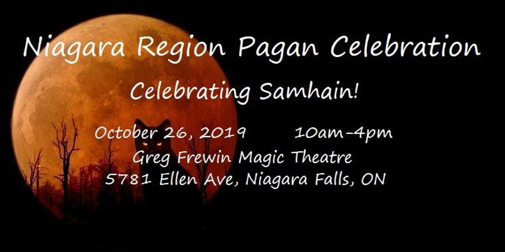 Niagara Region Paganfest - Celebrating Samhain! Tickets, Sat, 26 Oct