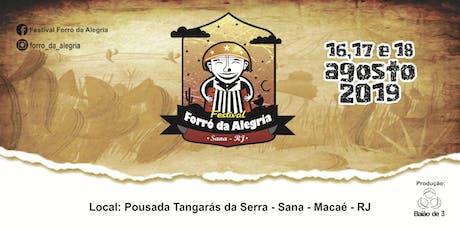 Festival Forró da Alegria ingressos