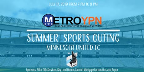 SPAAR's Metro YPN Summer Sports Outing: Minnesota United FC tickets