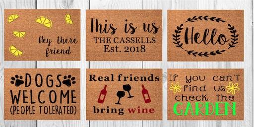 Buddy Boy Winery First Doormat Workshop