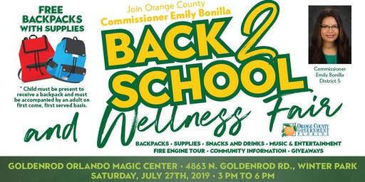 Goldenrod 2019 Back to School and Wellness Fair