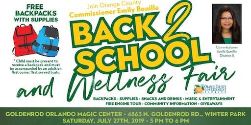 Goldenrod 2019 Back to School and Wellness Fair