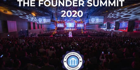 Entrepreneur University - The Founder Summit 2020 Tickets