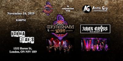 """Whiskey Rose / Anita Gig ~ \""""Tributes to Whitesnake & Dio\"""""""