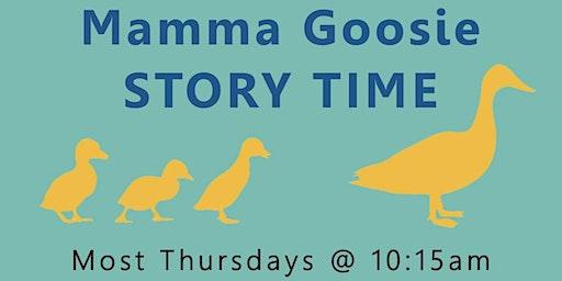 Momma Goosie Story Time
