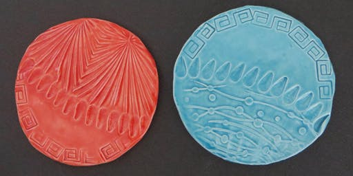Nature Tiles. A Pop Up Ceramic Workshop