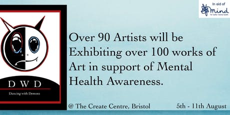DWD Art Exhibition  in support of mental health awareness. tickets