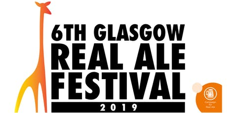 Glasgow Real Ale Festival 2019 tickets