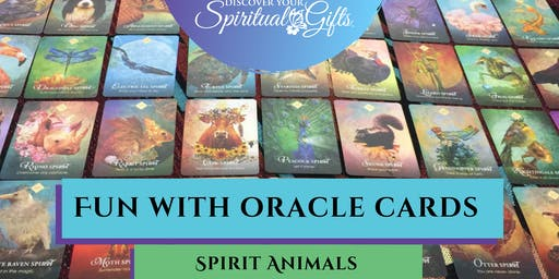 Fun with Oracle Cards: Spirit Animals