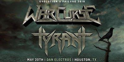 Visionary Noise Presents: War Curse w/ Tyrant & WolfeBlitzer