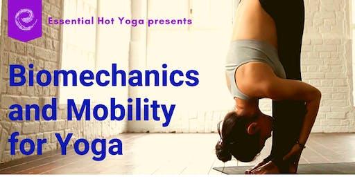Biomechanics & Mobility for Yoga