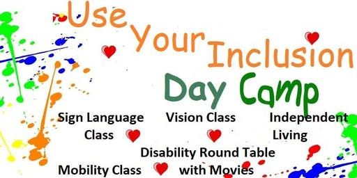 Use Your Inclusion Day Camp