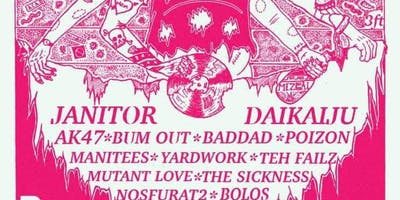 Take this Fest and Shove It 3 w/ Janitor, Daikaiju, AK47, and many more.