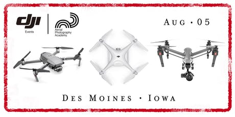 DJI Drone Photo Academy – Des Moines, Iowa tickets