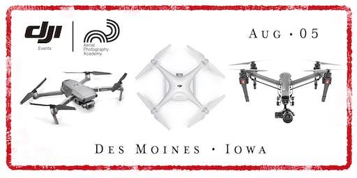 DJI Drone Photo Academy – Des Moines, Iowa