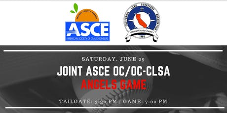 Joint ASCE OC / OC-CLSA Angels Game tickets