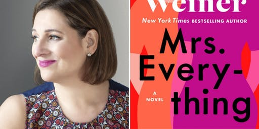 An Evening with Bestselling Author Jennifer Weiner