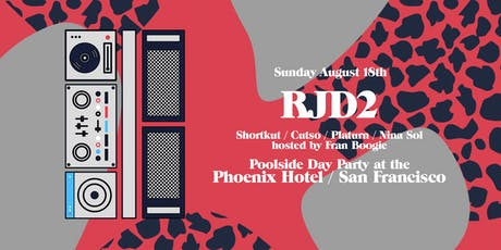 RJD2 Poolside Party @ The Phoenix Hotel tickets