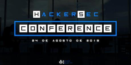 HackerSec Conference ingressos