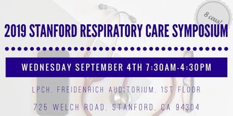 2019 Stanford Respiratory Care Symposium tickets
