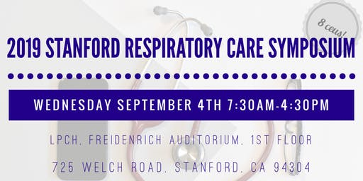 2019 Stanford Respiratory Care Symposium