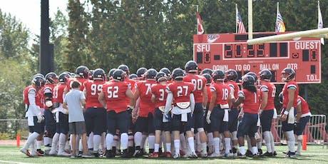 SFU FOOTBALL vs. South Dakota School of Mines & Technology tickets