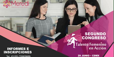 Congreso Talento femenino en acción, Creando sostenibilidad en los negocios boletos