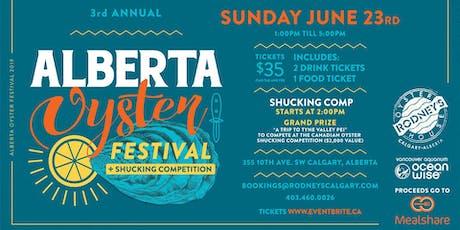 Alberta Oyster Festival tickets
