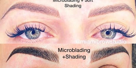 3 Days Microblading (Blade) & Shading (Machine)Training Optional ***One day Ombre Training tickets