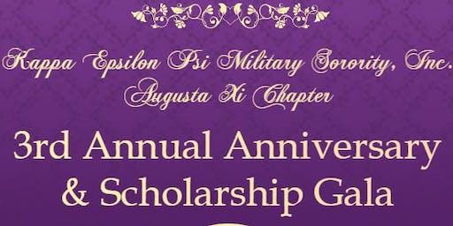 Augusta Xi's 3rd Annual Anniversary & Scholarship Gala.