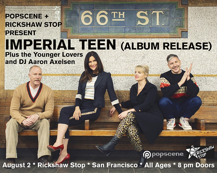 The return of IMPERIAL TEEN with The Younger Lovers supporting!!! image