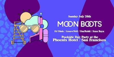 MOON BOOTS Poolside @ The Phoenix Hotel / SF