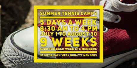 Tennis Summer Camp - Charlottetown tickets