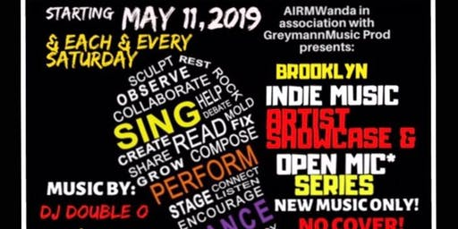 BROOKLYN INDIE MUSIC ARTISTS SHOWCASE & OPEN MIC
