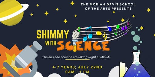 Shimmy with Science - ages 4-7