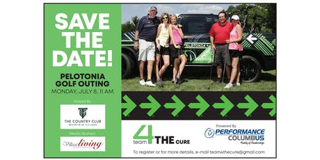 Pelotonia | Team 4 THE Cure - 3rd Annual Golf Outing tickets
