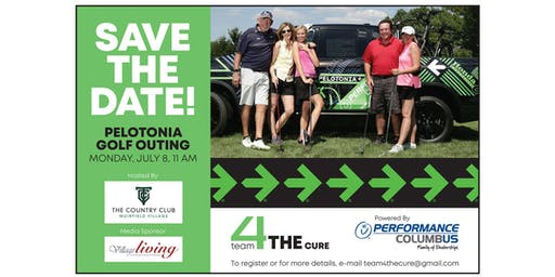 Pelotonia | Team 4 THE Cure - 3rd Annual Golf Outing