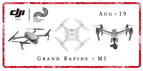 DJI Drone Photo Academy – Grand Rapids, MI tickets