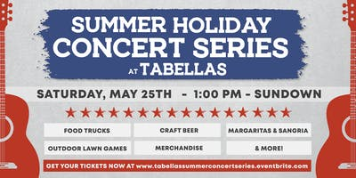 Summer Holiday Music Series - Memorial  Weekend Concert