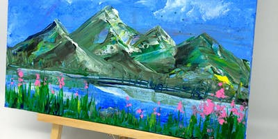 Date night: Painting Group- Mountains