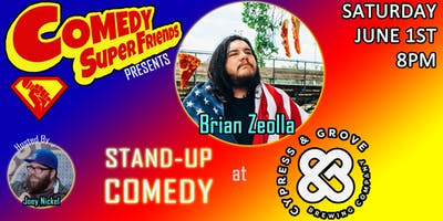 LIVE STAND-UP COMEDY AT CYPRESS & GROVE BREWING CO.