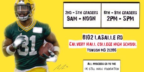 "Adrian ""Smash"" Amos Football Camp Session II (6th - 9th graders) tickets"