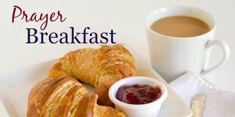 North Eastern Prayer Breakfast  tickets